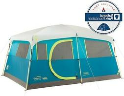 coelman 8 person cabin camping tent fast