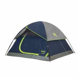 Coleman 4 Person Tent Sundome Easy Setup Camping Waterproof