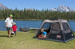 Coleman Instant 4 Person Easy Set Up Tent Cabin Waterproof F