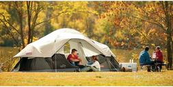 Coleman Red Canyon 8 Person Tent, Black Camping New