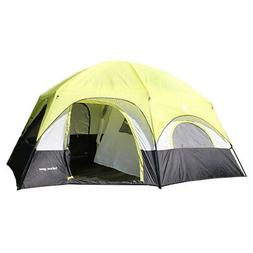 Tahoe Gear Coronado 12 Person Dome 3 Season Family Outdoor C