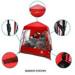 EasyGoProducts CoverU Sports Shelter – 2 Person Weather Te