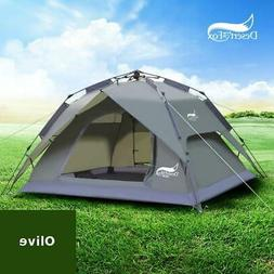 Desert&Fox Automatic Tent 3-4 Person Camping Tent,Easy Insta