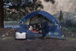 Coleman  Dome Tent Sundome Camping 4 Person Family  free  an