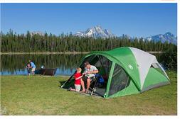 Coleman Dome Tent with Screen Room Evanston Camping Screened