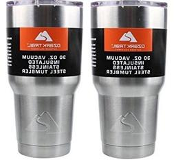Ozark Double-Wall Insulated stainless steel tumblers - set o