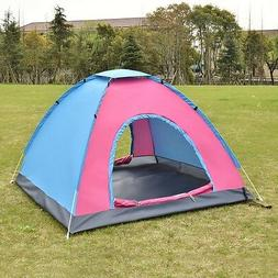 Durable Outdoor Camping Waterproof Solid Tent Family Hiking