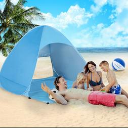 Easy Pop Up tents for camping 4 Person Family Outdoor beach