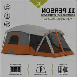 Core Equipment 40035 11 Person Camping Tent with screen- Ora