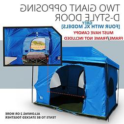 The Original-Authentic Standing Room Family Cabin Tent 8.5 F