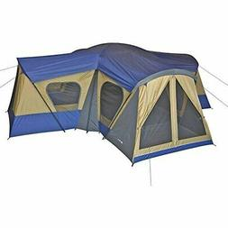 Family Cabin Tent 14 Person Base Camp 4 Rooms Hiking Camping