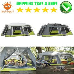 Family Camping Tent and Bag for 12 Person with Room Divider