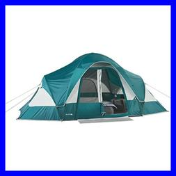 Family Camping Tent for 8-Persons with Removable Center Room