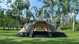 Family Tent with separated rooms & big space ideal for famil