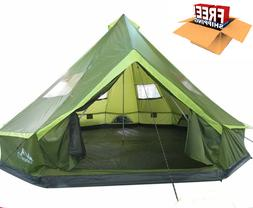 Family Tents For Camping 8-12 Person Large Waterproof Large