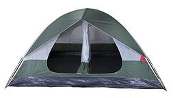 """Grand 12 2 Room 10'x12'x72"""" Camping Tent"""