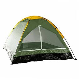 Happy Camper 2-Person Tent, Dome Tents for Camping with Carr