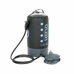 Nemo Helio Portable Pressure Shower with Foot Pump, Periwink