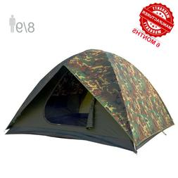 NTK HUNTER GT 8 to 9 Person 10 by 12 Ft Outdoor Dome Woodlan