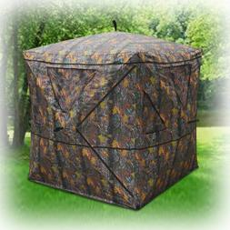 Hunting Blind Ground 2 Person Tent Camping Expedition Shelte