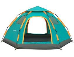 Wnnideo Instant Family Tent Automatic Pop Up Tents Waterproo