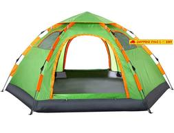 Wnnideo Instant Family Tent Automatic Pop Up Tents For Outdo
