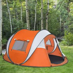 Instant Tent 6-Person Outdoor Cabin Waterproof Family Dome P