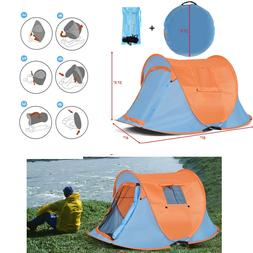 Instant Tent Pop Up Portable Camping Tents 2 Person Hiking S