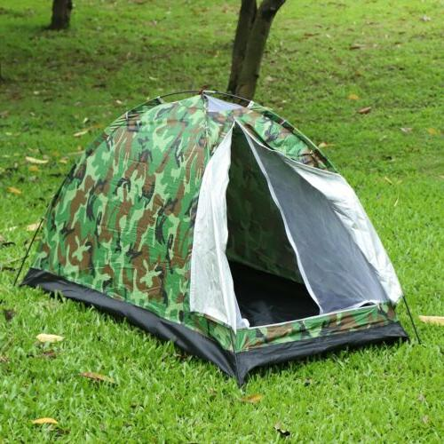 1 person man waterproof tent outdoor camping