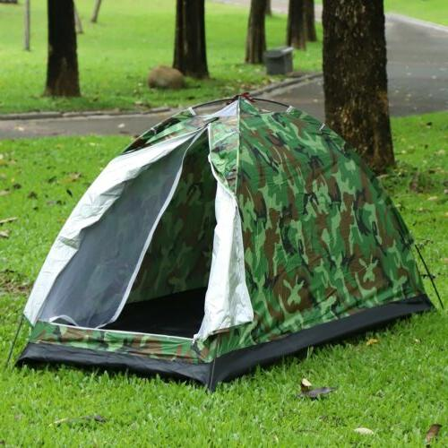 1 Person Man Waterproof Tent Camouflage