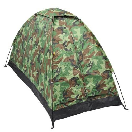 1 Tent Outdoor Camping Camouflage