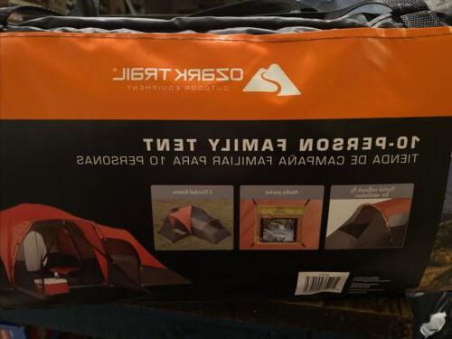 10 person family tent camping