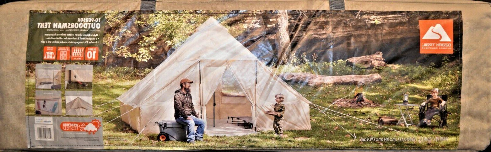 10 person outdoorsman single wall camping tent