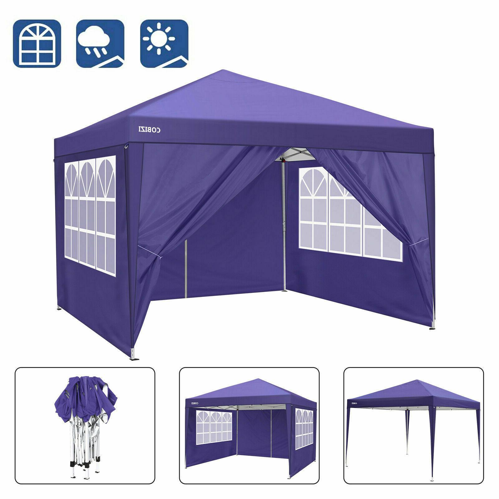 10x10ft Waterproof Party Tent Instant with