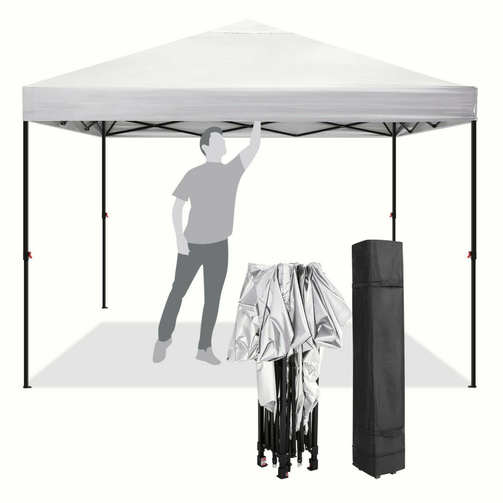 10x10ft Canopy Party with 4 Sidewalls NEW