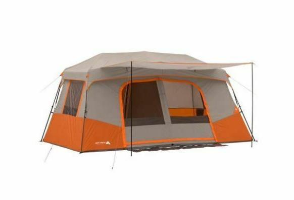 11 person 3 room instant cabin tent
