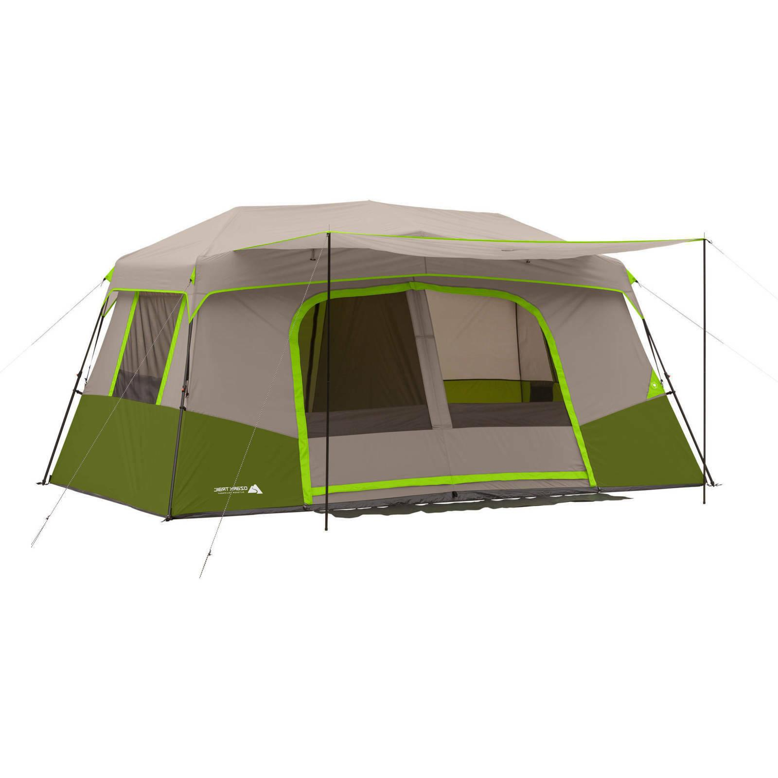 11 person instant cabin tent with private