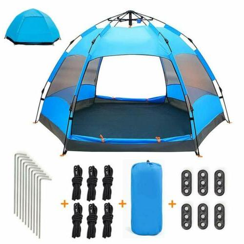 2 3 person camping instant tent automatic