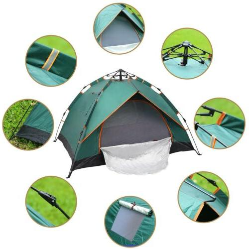 2 Person Up Outdoor Camping Tent Protection