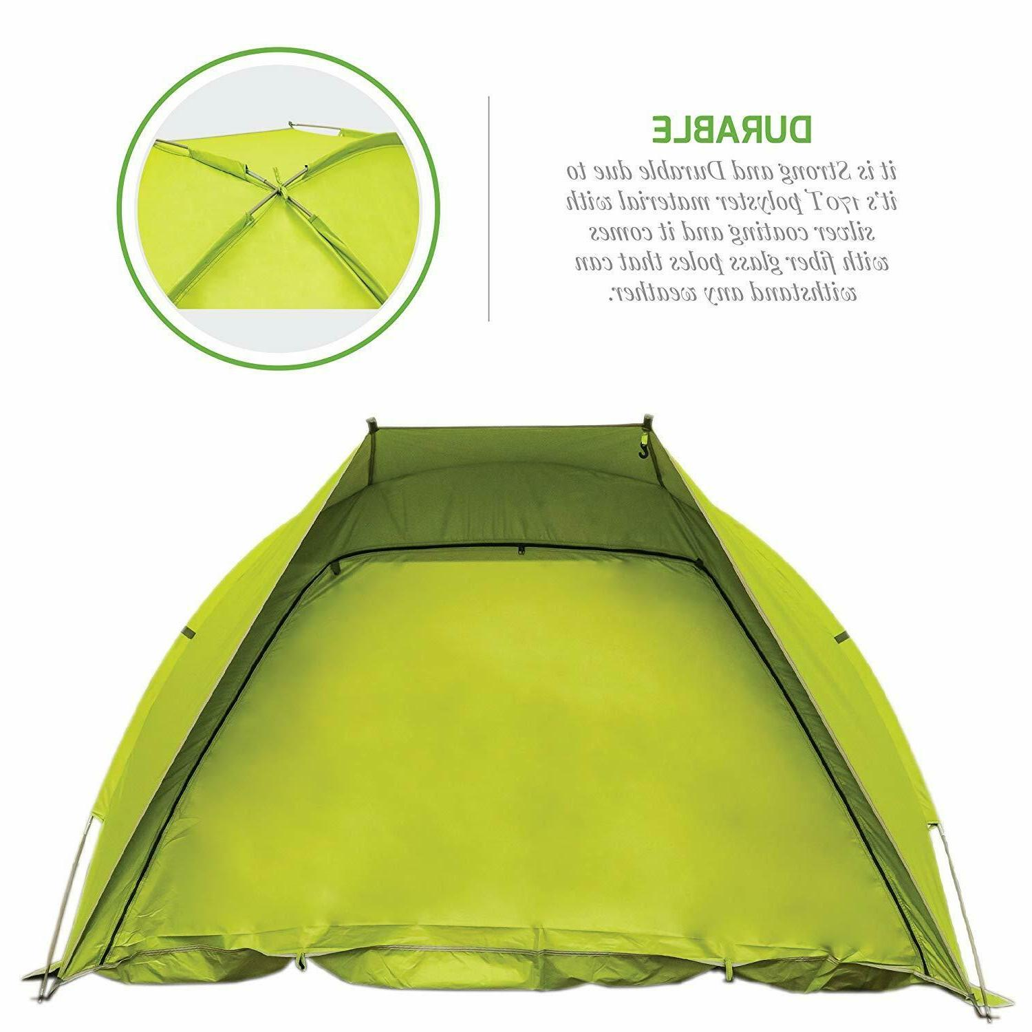 Ovente Two Dome Windproof Green