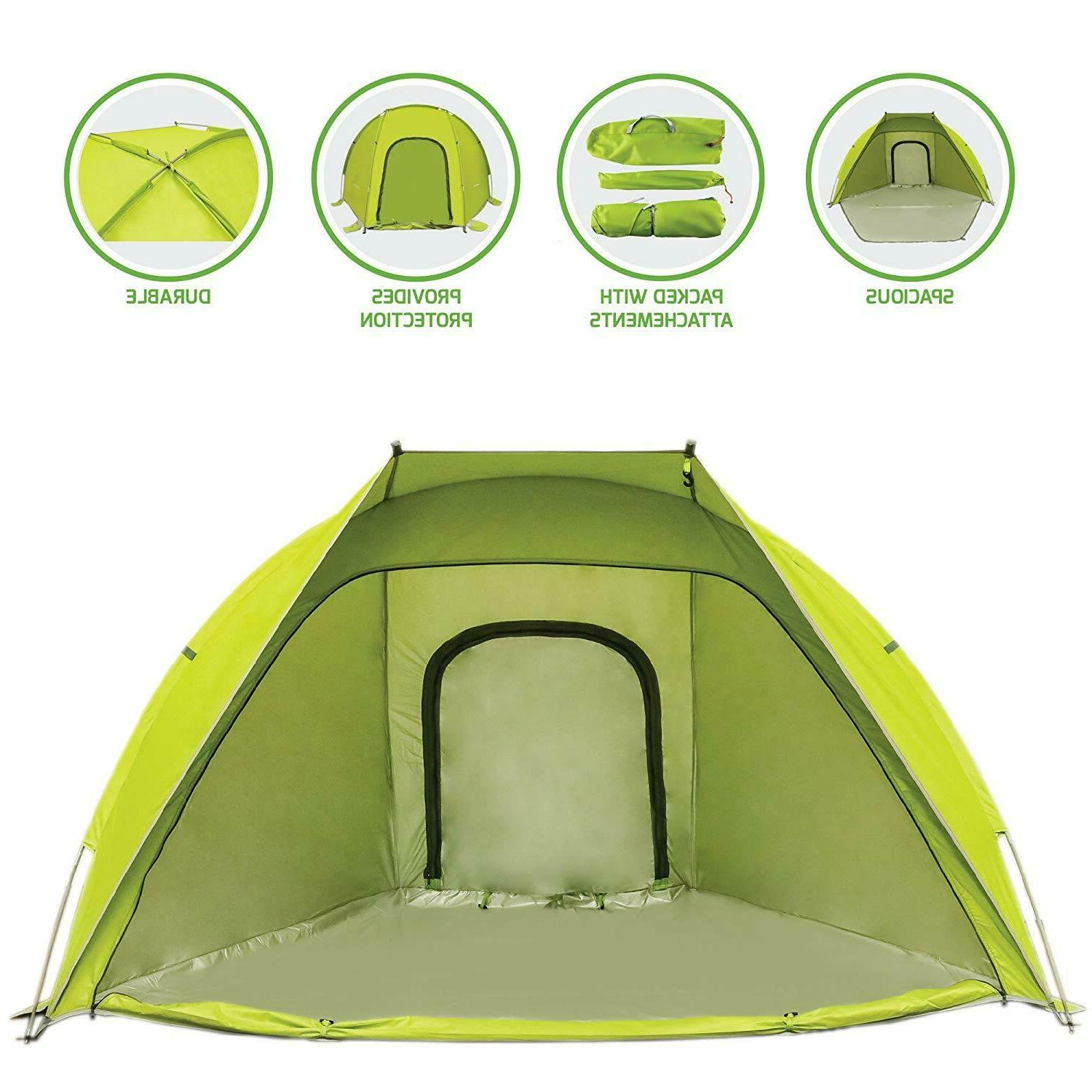 2 person outdoor dome tent green tb0174g