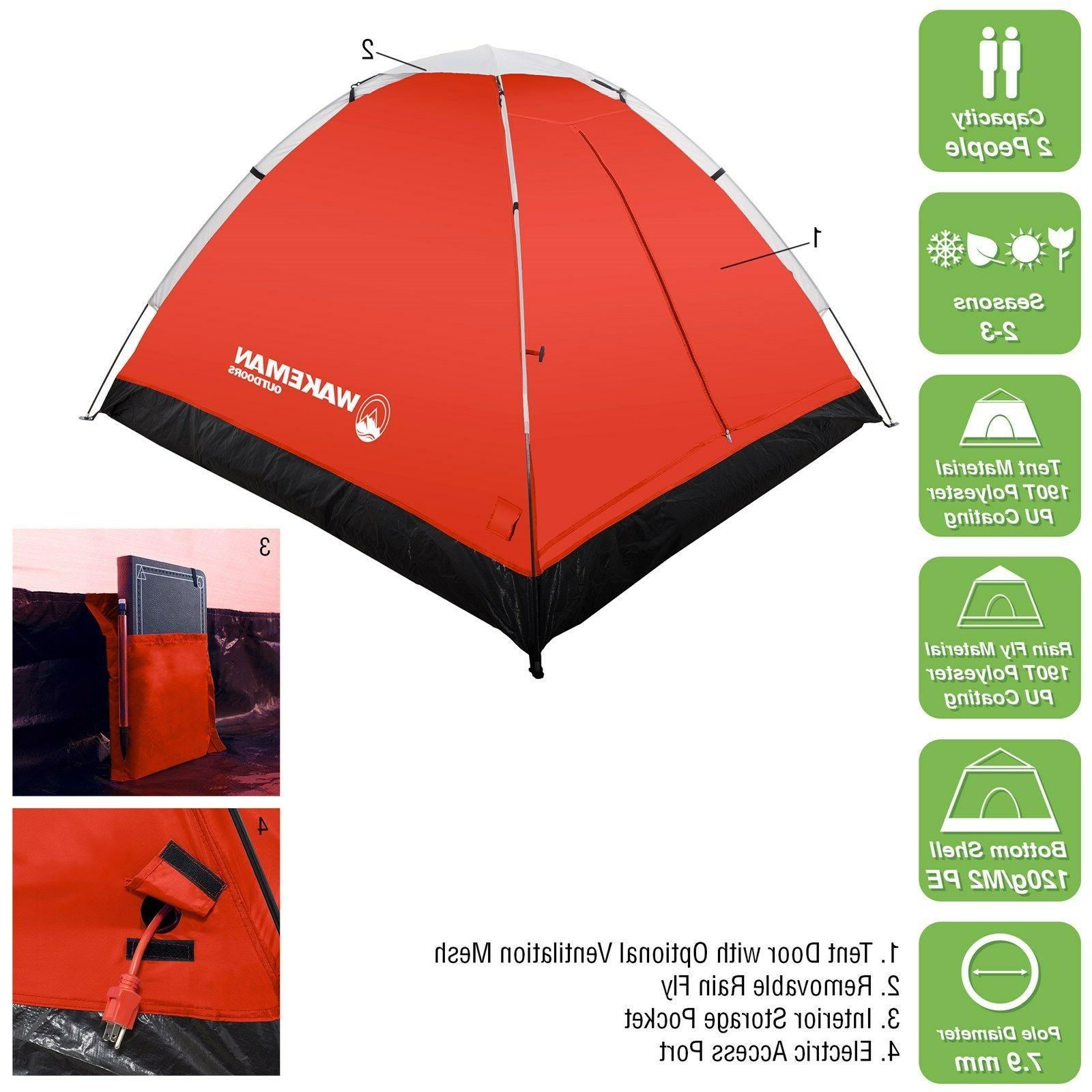 Wakeman 2 Resistant Tent Fly Camping