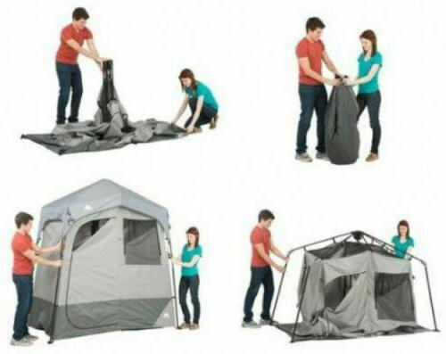 Ozark Trail 2-Room Camping Instant Privacy Tent