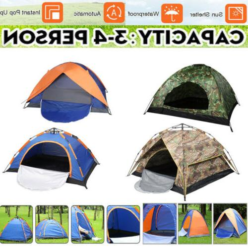 3 4 people outdoor pop up camping