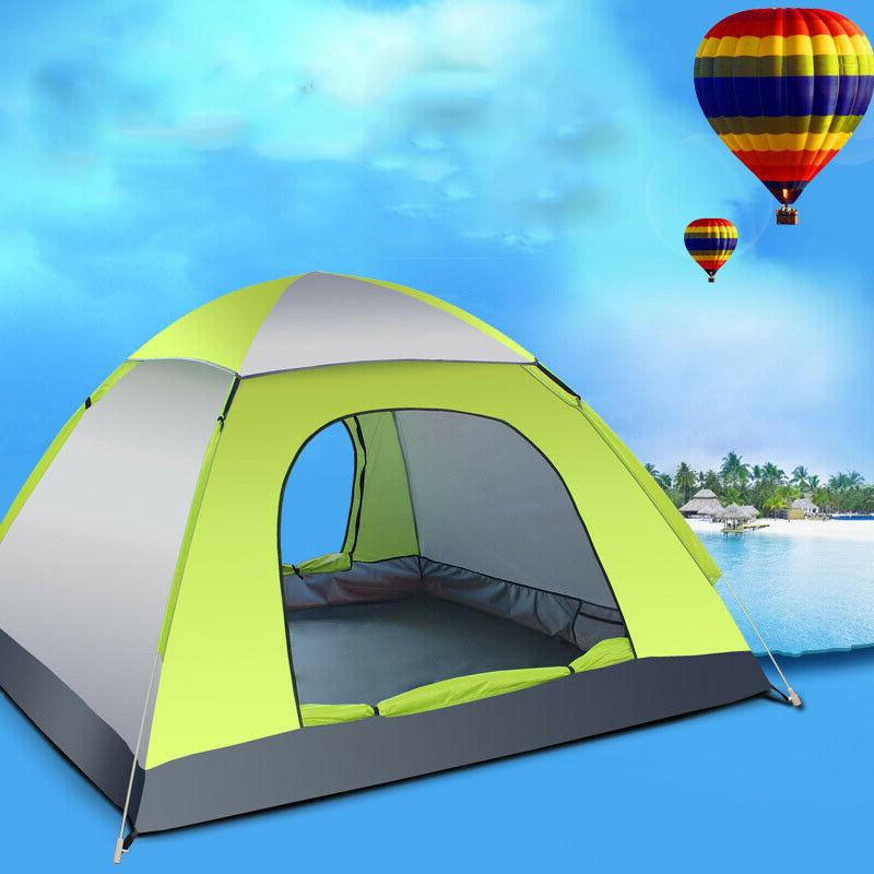 3-4 Camping Easy Automatic Pop Up Instant Large