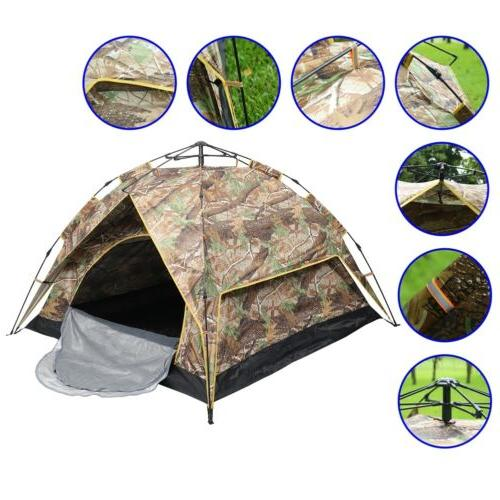 3-4 People Outdoor up Camping Waterproof Family US