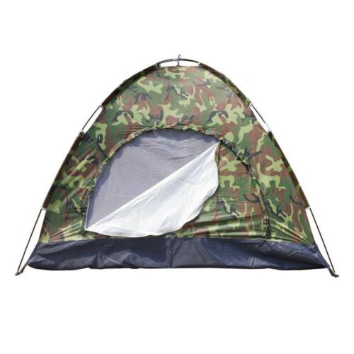 3-4 Camping Tent Family Outdoor Sleeping Dome Water W/Carry Bag