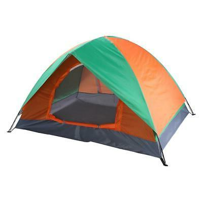 3 4 person family camping waterproof tent
