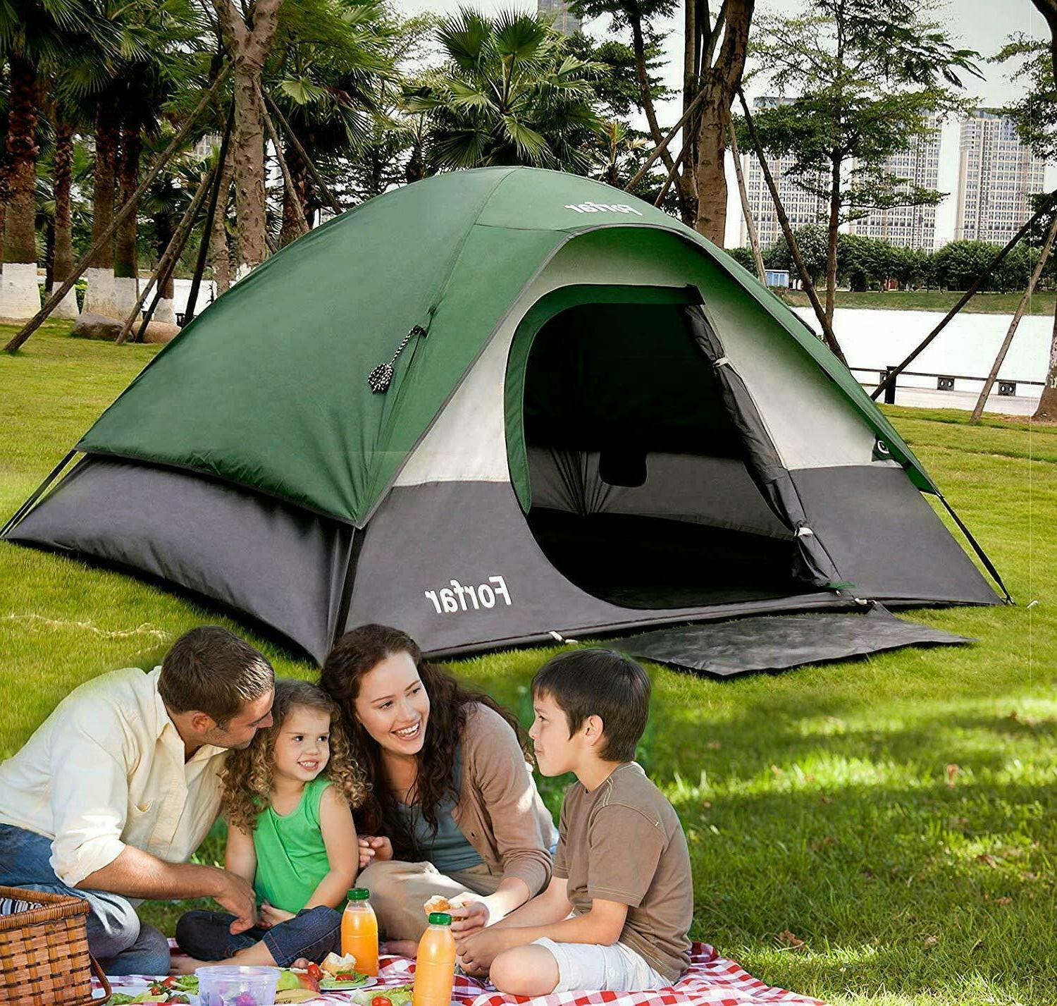 3 4 person outdoor camping hiking waterproof