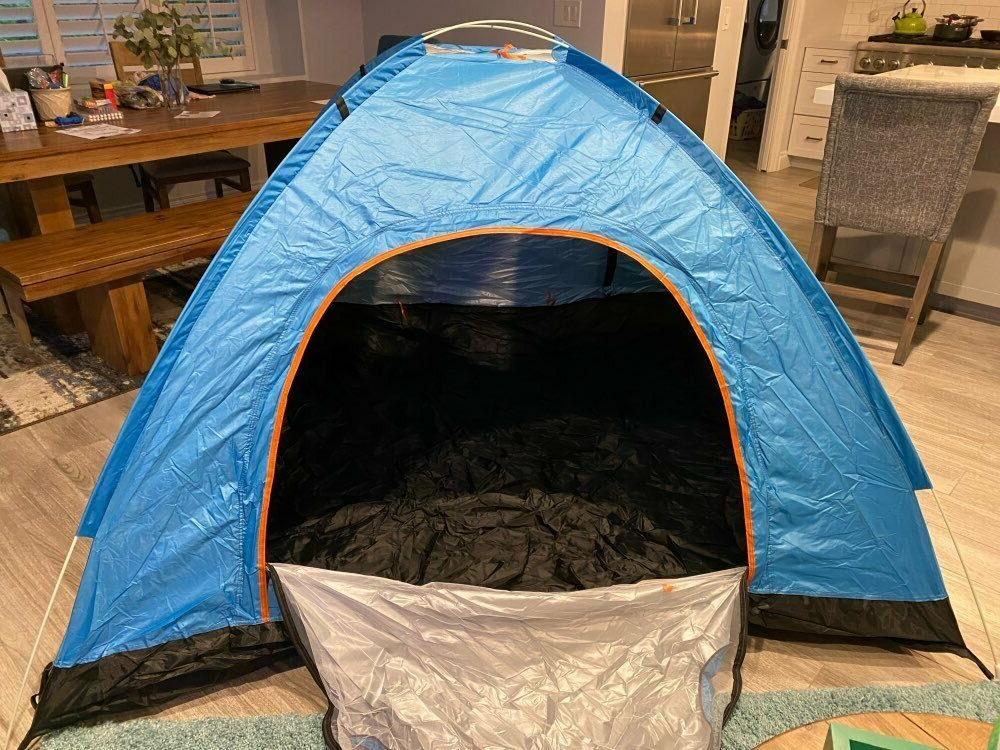 Camping Tent Pop Automatic Waterproof Tent Beach Hiking